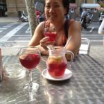 Sharing Sangria with Lily